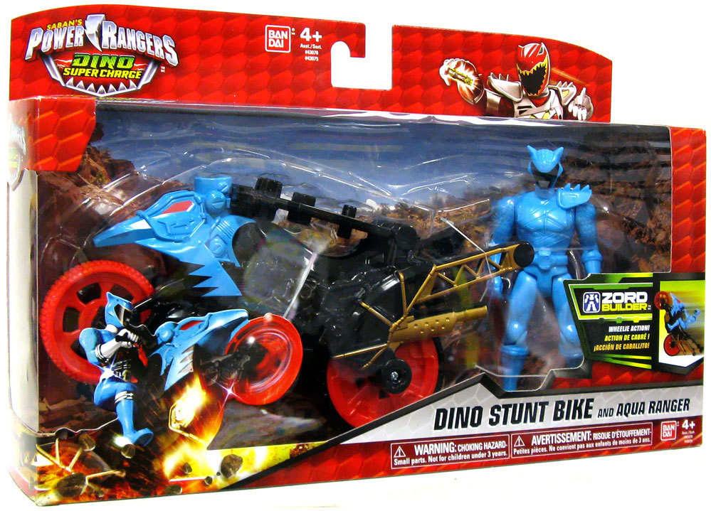 Power Rangers Moto Transformable Dino Super Cash