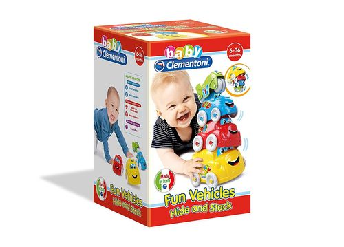 Coches Apilables Clementoni Baby