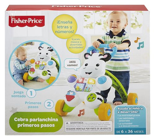 Fisher-Price Cebra Parlanchina Primeros Pasos
