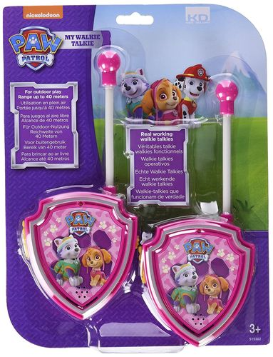 Paw Patrol - Set 2 Walkies Skye