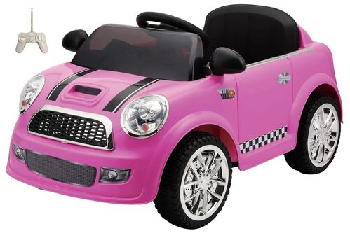 Coche Mini RC Rosa 6V