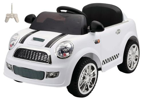 Coche Mini RC Blanco 6V