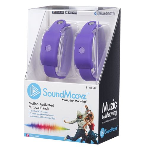 SoundMoovz - Pulseras Music By Moving  Violeta