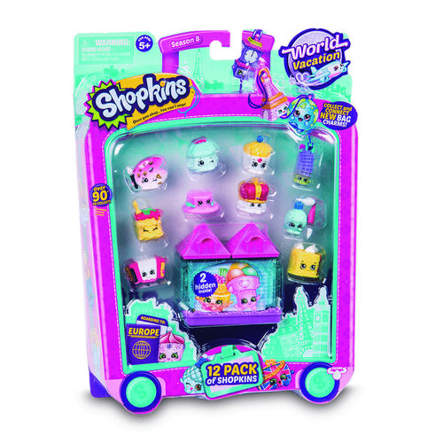 Shopkins Series 8 World Vacation 12 Pack