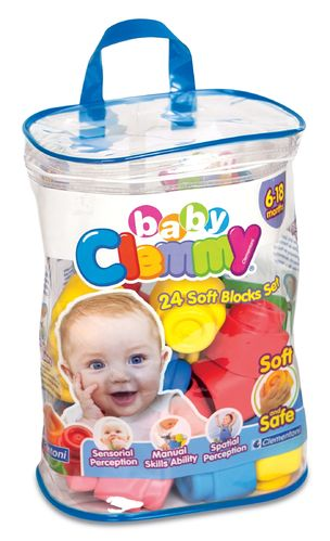 Clemmy Baby Bolsa 24 bloques - Clementoni