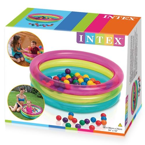 Intex Piscina con 50 Bolas 86 x 25 cm