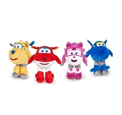 Peluche Super Wings 40 cm Surtido