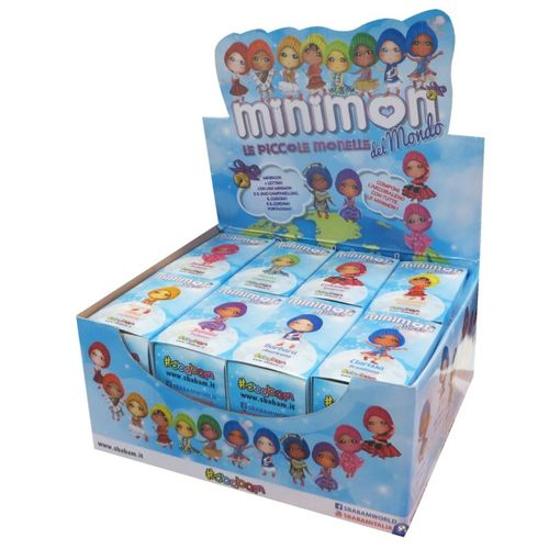 Minimon del Mundo - Display 16 unds