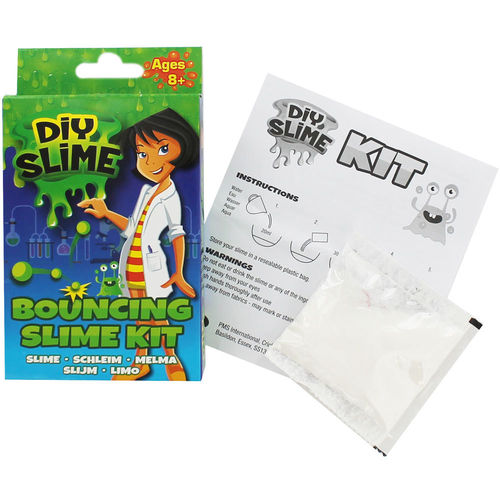 Kit Crea tu Slime que Rebota - Display 24 unds