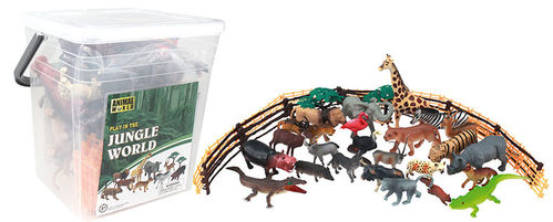Set Cubo 58 Animales Salvajes