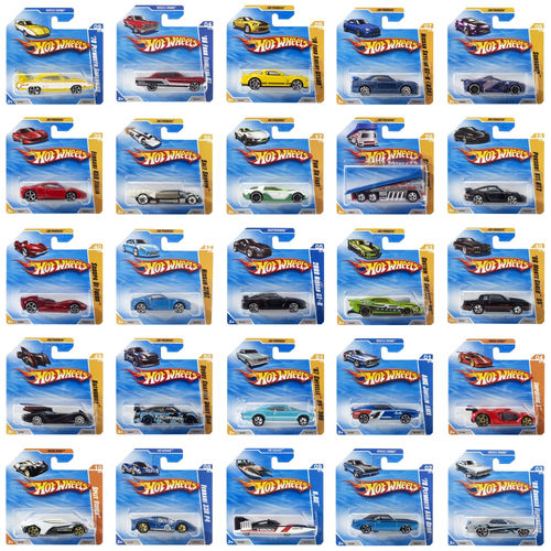 Hot Wheels -  Pack 72 Vehículos Surtidos