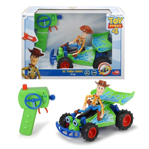 Toy Story 4 Buggy con Woody Radio Control