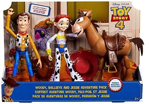 Toy Story 4 - Pack 3 Figuras