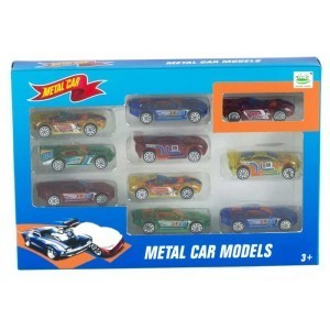 Set 10 Coches de Metal