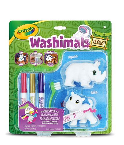 Crayola - Washimals Set Safari Hippo