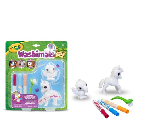 Crayola - Washimals Set Safari Zebra