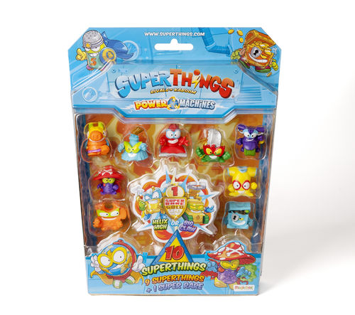 SUPERTHINGS POWER MACHINES BLISTER 10