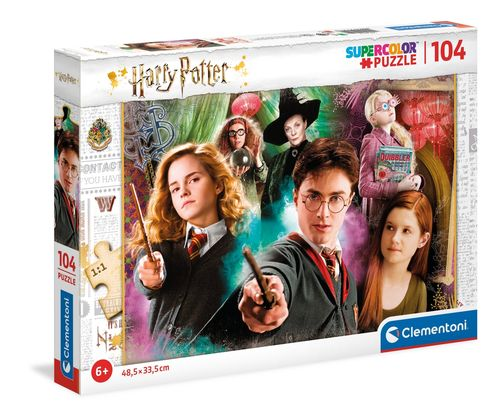 Clementoni - Harry Potter - 104 piezas - Supercolor Puzzle