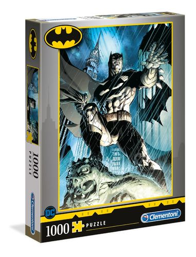 Clementoni - Batman - 1000 piezas - High Quality Collection