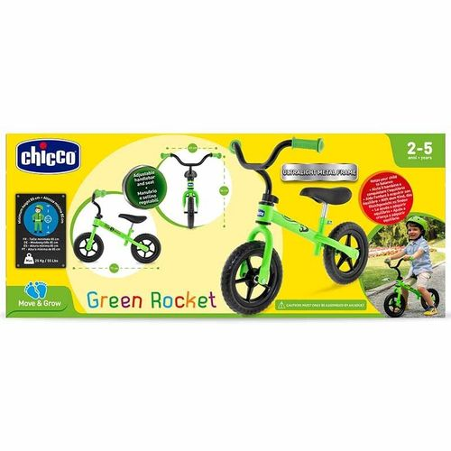 Chicco - Firt Bike Green Rocket